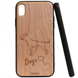 Dogs Love – Bullterrier fa telefontok